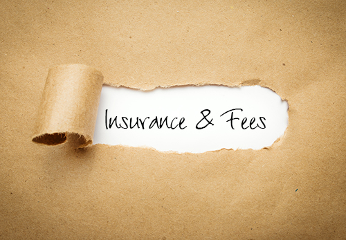 insurance and fees